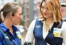 Walmart retail store associates