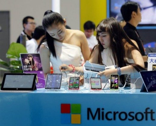Microsoft-in-China-518x420
