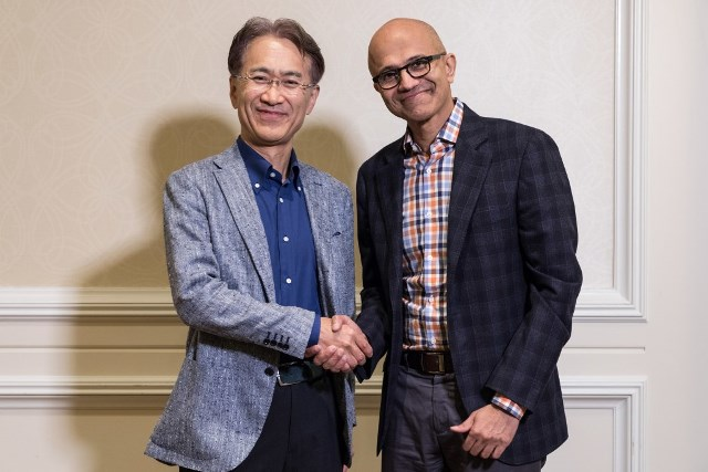 Microsoft Cloud and Sony deal
