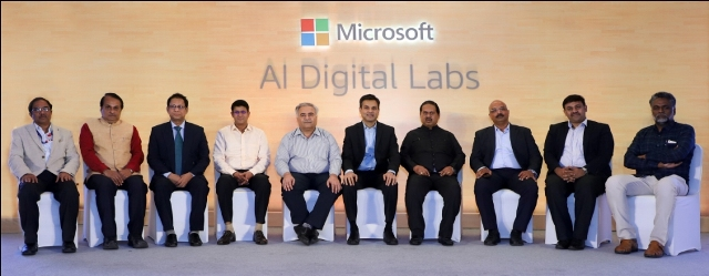 Microsoft launches AI Digital Labs in India- Picture