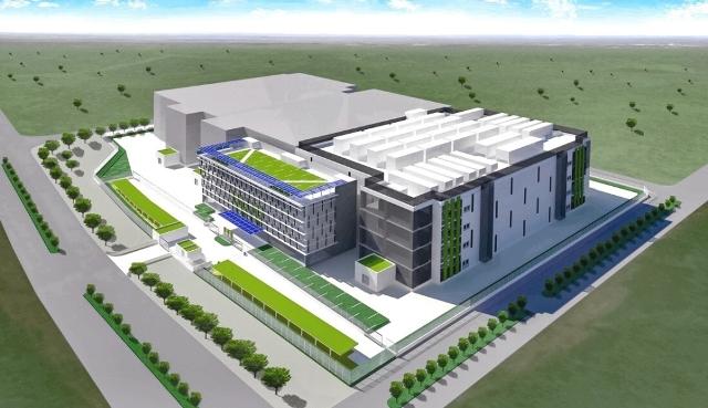 NTT Com data center in Indonesia