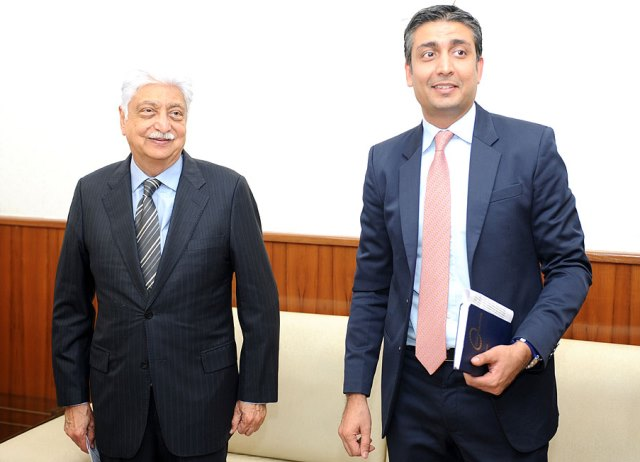 Wipro Azim Premji and Rishad Premji