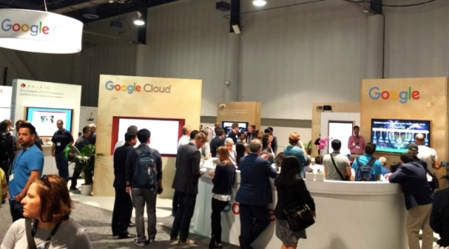 Google Cloud at IT trade show