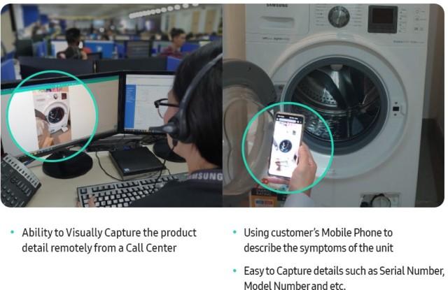 Samsung visual support