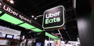 Uber Eats network