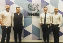 Digital transformation Nestle Australia team