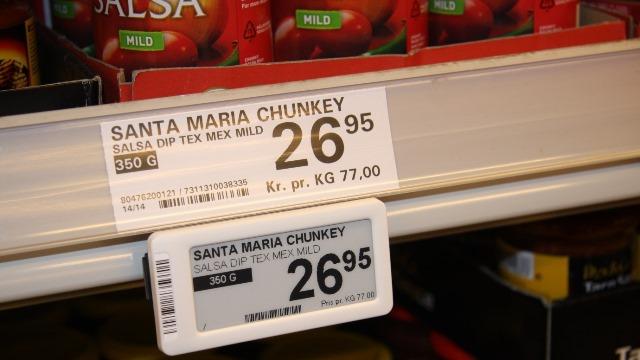 Electronic Shelf Labelling (ESL) solution