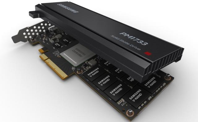 Samsung PCIe Gen4 NVMe SSD HHHL