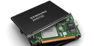 Samsung PM1733 PCIe Gen4 NVMe SSD