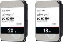 Western Digital 18TB CMR and 20TB SMR HDDs