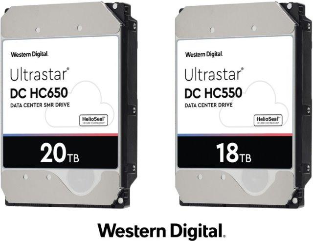 Western Digital 18TB CMR and 20TB SMR HDDs