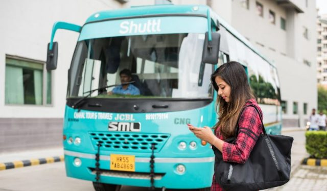Shuttl bus sharing app