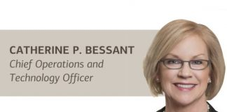 Cathy Bessant, chief operations and technology officer of Bank of America