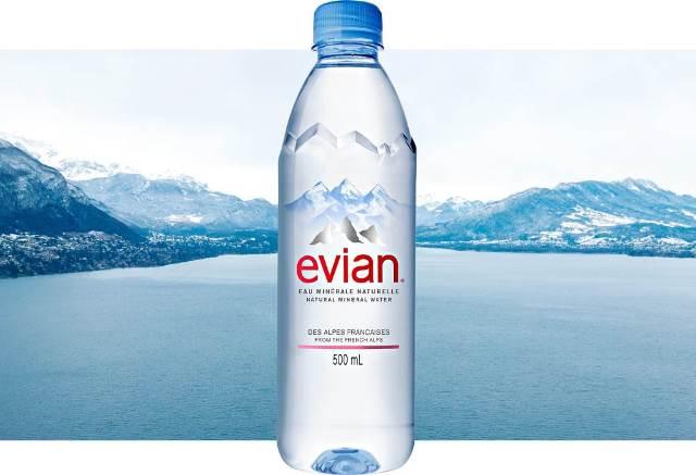 Danone Evian