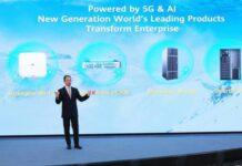 Qiu Heng, President of Global Marketing, Huawei Enterprise BG