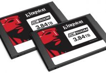 Kingston DC500R and DC500M Enterprise SSD