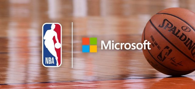 Microsoft Cloud to power NBA