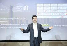 Edward Deng, Chief Marketing Officer of Cloud & AI BG, Huawei