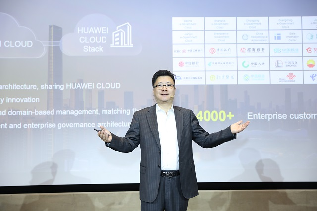 Edward Deng, Chief Marketing Officer of Cloud & AI BG, Huawei