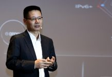 Kevin Hu, President of Huawei Data Communication Product Line