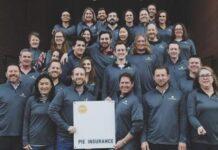 Pie Insurance team