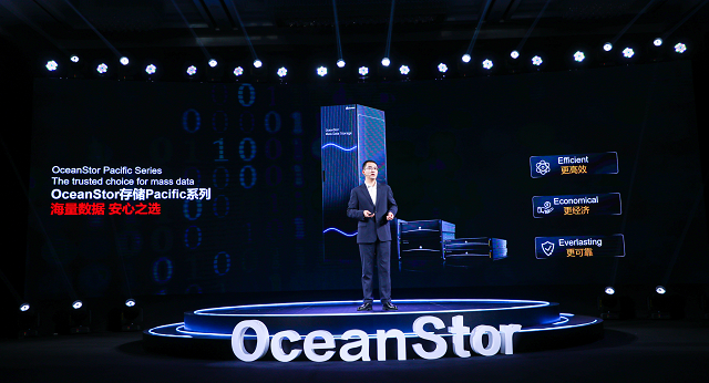 Shang Haifeng, President of Huawei Mass Storage Domain