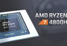 AMD Ryzen 7 4800H processor