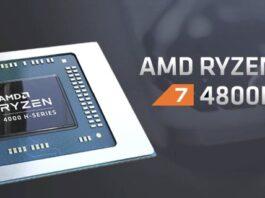 AMD Ryzen 7 4800H processor
