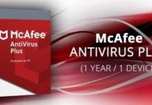 McAfee anti-virus