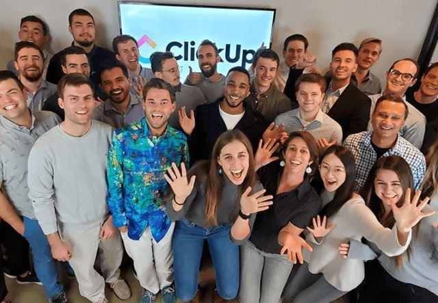 ClickUp team