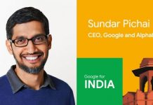 Google CEO Sundar Pichai in India