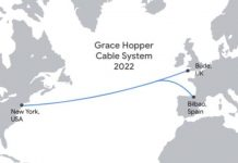 Google undersea fiber-optic cable