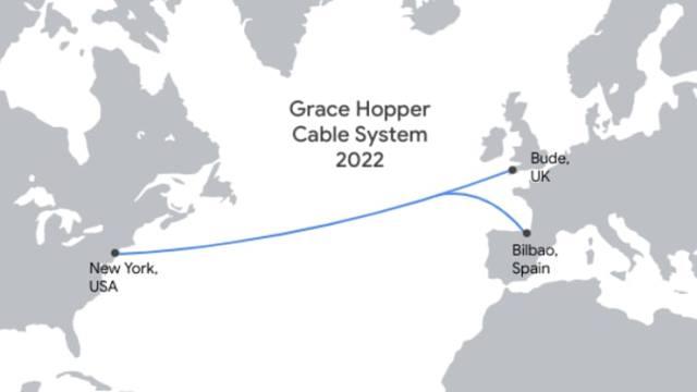 Google undersea fiber-optic cable