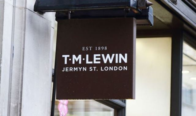 TM Lewin store goes digital only