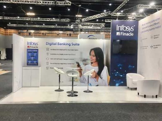 Infosys Finacle at IT trade show