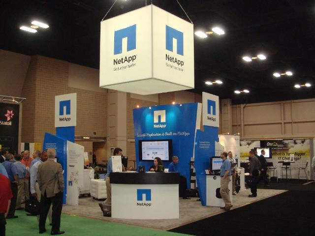 NetApp at a IT trade show