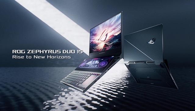 ASUS Zephyrus Duo 15 gaming laptop