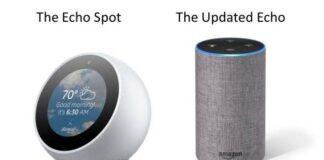 Amazon Echo Spot devices