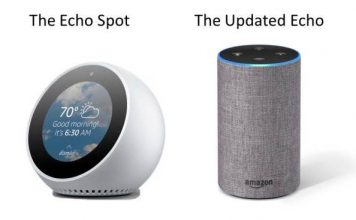 Amazon Echo Spot devices