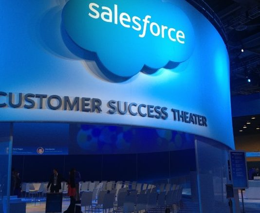 Salesforce business software for healthcare