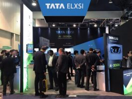 Tata Elxsi at a trade show