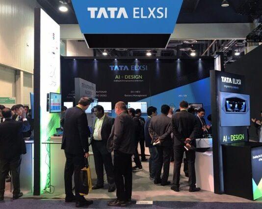 Tata Elxsi at a trade show