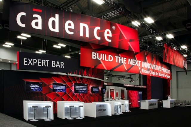 Cadence at a trade event
