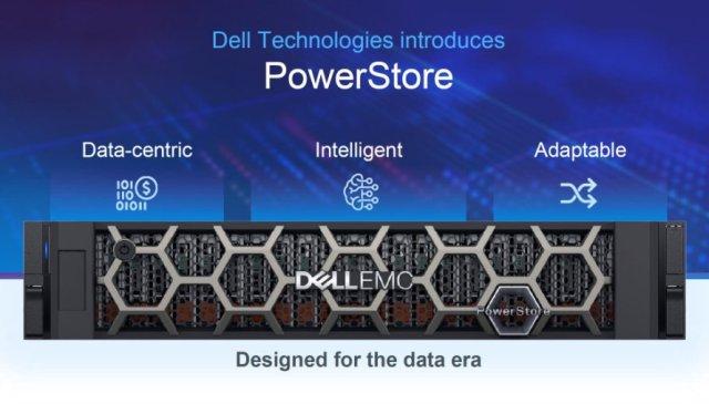Dell PowerStore midrange all-flash storage platform