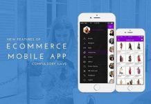 Features of ecommerce mobile apps