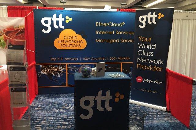 GTT at a trade event