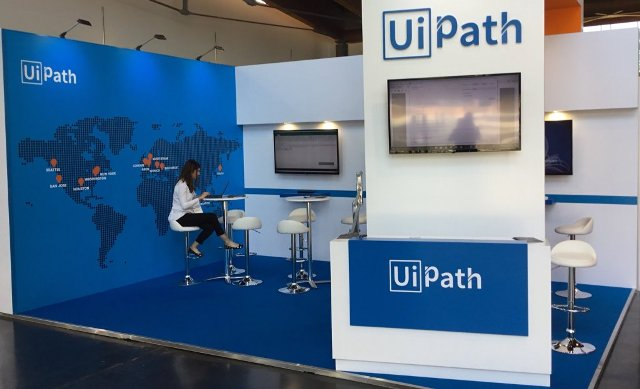 UiPath at a IT trade event
