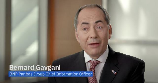 BNP Paribas Group CIO Bernard Gavgani