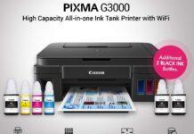Canon Pixma G3000 printer India price