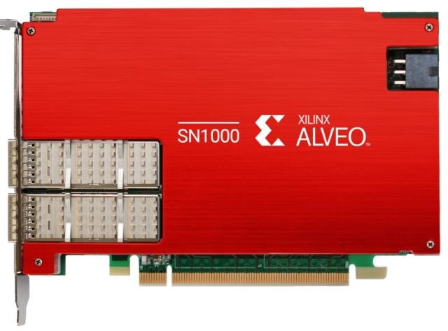 Xilinx Alveo SN1000 SmartNIC